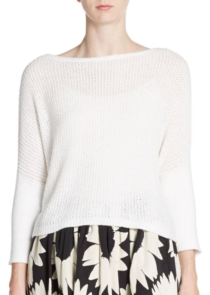 Alice + Olivia Terry Point Sweater