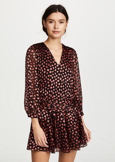 alice + olivia Tessie Drop Waist Dress