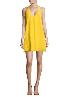 Alice + Olivia Textured T-Back Dress