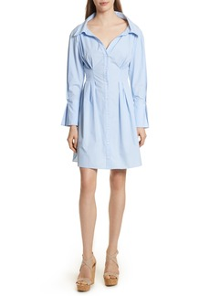 Alice + Olivia Vergie Seamed Shirtdress