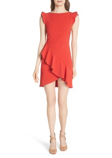 Alice + Olivia Verona Ruffled Minidress