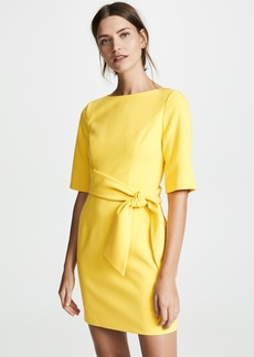 alice + olivia Virgil Boat Neck Dress