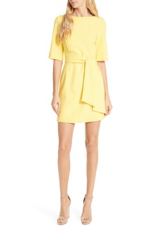 Alice + Olivia Virgil Tie Waist Minidress