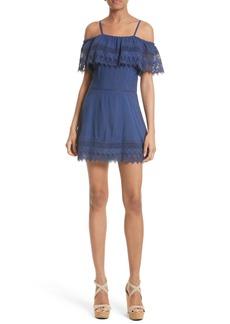 Alice + Olivia Walsh Off the Shoulder Dress