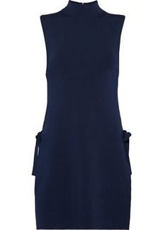 Alice + Olivia Woman Alvera Knitted Turtleneck Tunic Navy