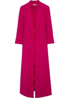 Alice + Olivia Woman Angela Crepe Jacket Magenta