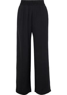 Alice + Olivia Woman Benny Twill Wide-leg Pants Black