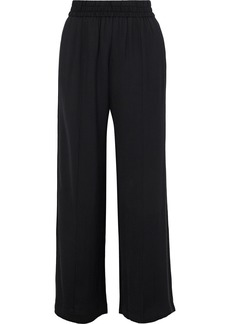 Alice + Olivia Woman Benny Twill Wide-leg Pants Black