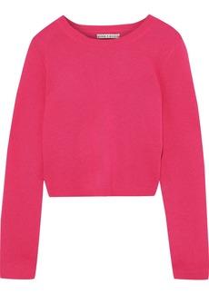 Alice + Olivia Woman Ciara Cashmere-blend Sweater Fuchsia