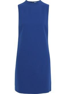 Alice + Olivia Woman Coley Crepe Mini Dress Cobalt Blue