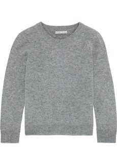 Alice + Olivia Woman Connie Cashmere Sweater Gray