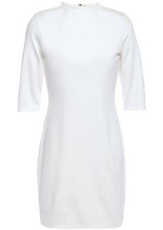 Alice + Olivia Woman Delora Stretch-jersey Mini Dress Off-white