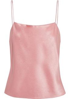 Alice + Olivia Woman Harmon Satin-crepe Camisole Baby Pink