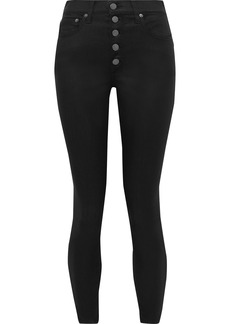Alice + Olivia Woman High-rise Skinny Jeans Black