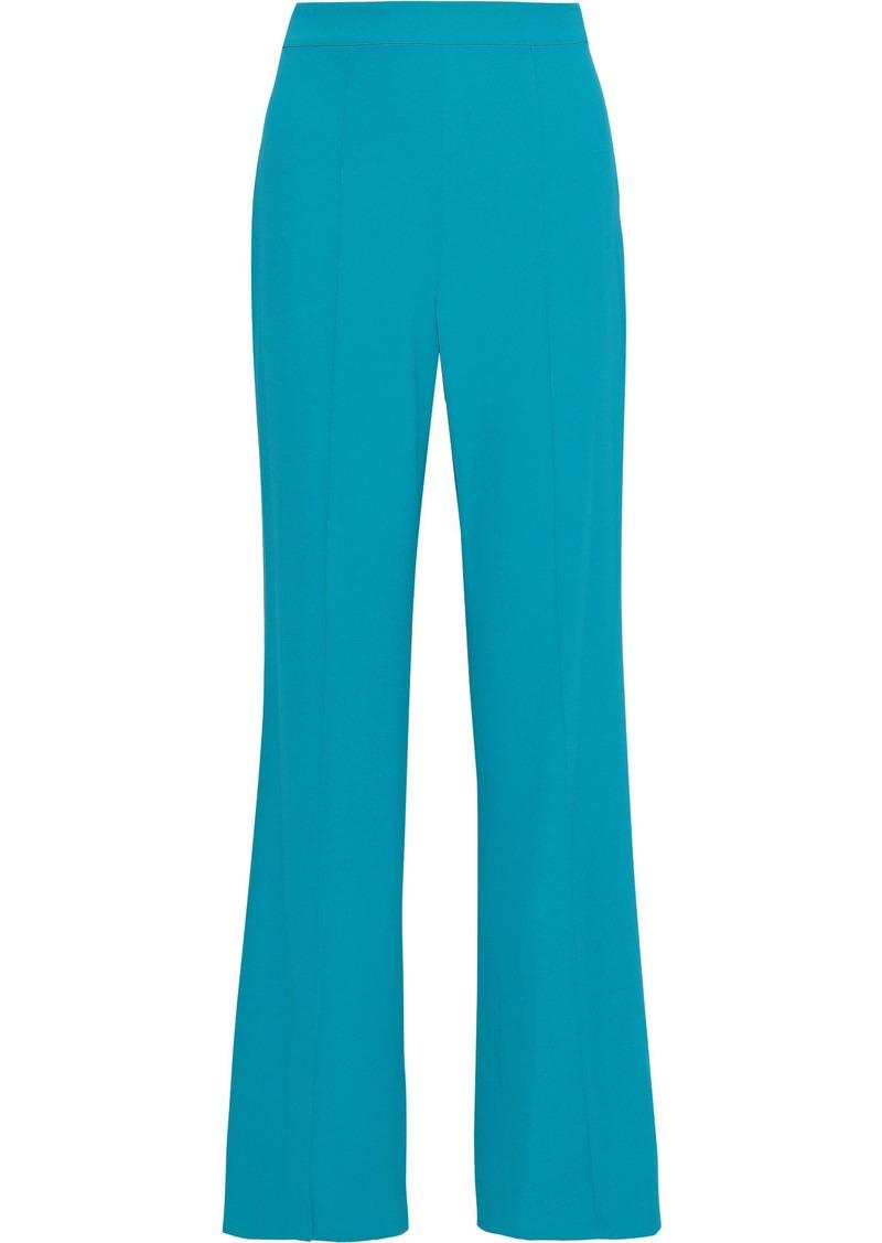 Alice + Olivia Woman Jalisa Crepe Wide-leg Pants Teal