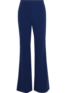 Alice + Olivia Woman Jalisa Stretch-crepe Flared Pants Royal Blue