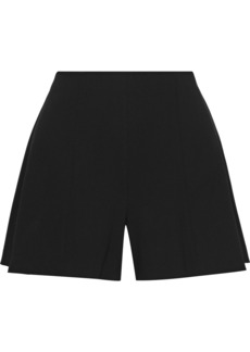 Alice + Olivia Woman Keira Crepe Shorts Black