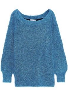 Alice + Olivia Woman Lisha Tinsel Sweater Turquoise