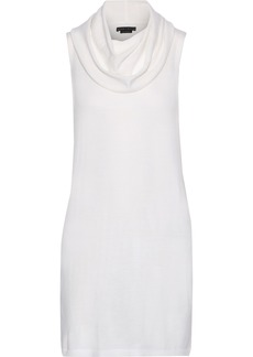 Alice + Olivia Woman Sharron Wool And Cashmere-blend Top Cream