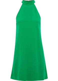 Alice + Olivia Woman Susanna Crepe Mini Dress Green