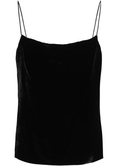 Alice + Olivia Woman Velvet Camisole Black