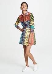 alice + olivia x Carla Kranendonk Connor Lampshade Skirt with Pockets
