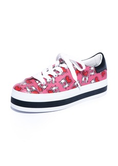 Alice + Olivia x Keith Haring Ezra Flatform Sneaker (Women)