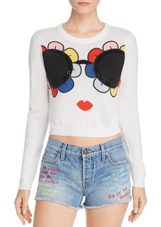 Alice + Olivia Alice and Olivia Connie Crewneck Sweater