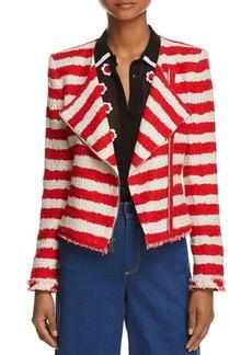 Alice + Olivia Alice and Olivia Stanton Striped Jacket