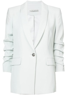 Alice+Olivia classic fitted blazer - Green