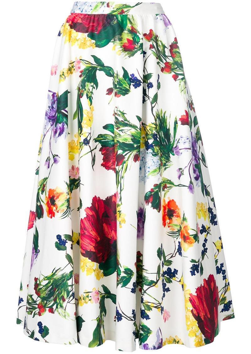 a60b3b3a2fe0e3 Alice + Olivia Alice+Olivia floral print skirt - White | Skirts