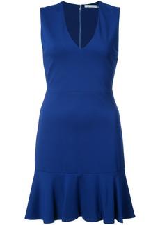 Alice + Olivia Alice+Olivia peplum hem mini dress - Blue