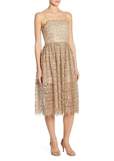 Alice + Olivia Alma Lace Party Dress