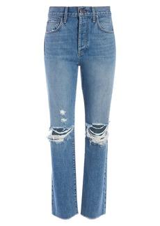 Alice + Olivia Amazing High-Rise Boyfriend Jeans