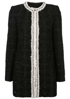 Alice + Olivia Andreas tweed jacket