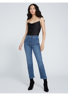 AO.LA by alice + olivia AMAZING HIGH RISE GIRLFRIEND JEAN