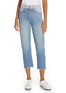 AO.LA by alice + olivia Amazing Two-Tone Girlfriend Jeans (Well Played)