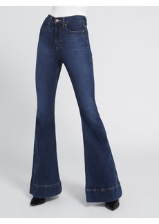 AO.LA by alice + olivia BEAUTIFUL HIGH RISE BELL JEAN