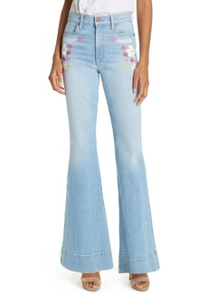 Alice + Olivia Jeans Beautiful High Waist Bell Bottom Jeans (Tease me)