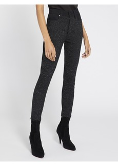 AO.LA by alice + olivia GOOD SEQUIN HIGH RISE SKINNY JEAN