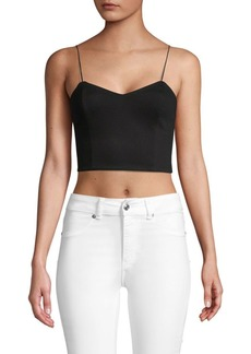 Alice + Olivia Archer Cropped Top