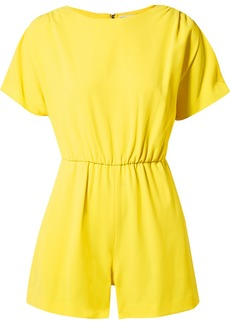 Alice + Olivia Ashlea crepe playsuit