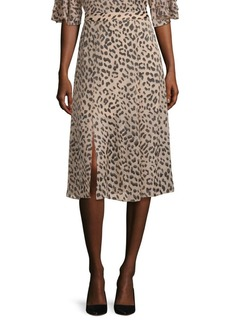 Alice + Olivia Athen Silk Skirt