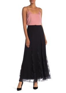 Alice + Olivia Athena Textured Lace Knit Skirt