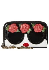 Alice + Olivia Avril Stace Face Flowers Small Wallet