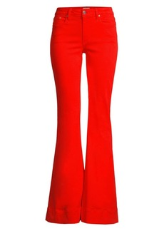 Alice + Olivia Beautiful Mid-Rise Bell Bottom Jeans