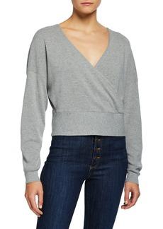 Alice + Olivia Bedelle V-Neck Pullover Sweater