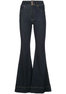 Alice + Olivia bell bottom jeans