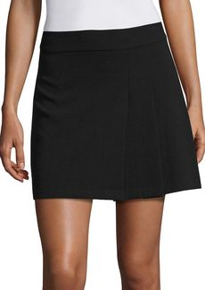 Alice + Olivia Bianka Pleated Mini Skirt