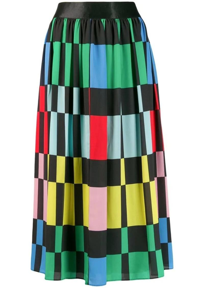 Alice + Olivia block colour skirt